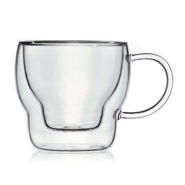 Set 6 tazas café borosilicate 12cl