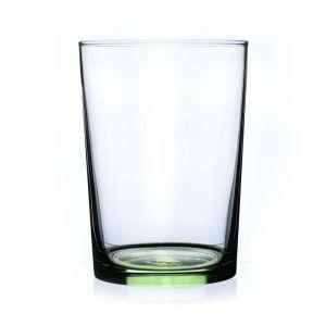 vaso sidra de 51cl base verde