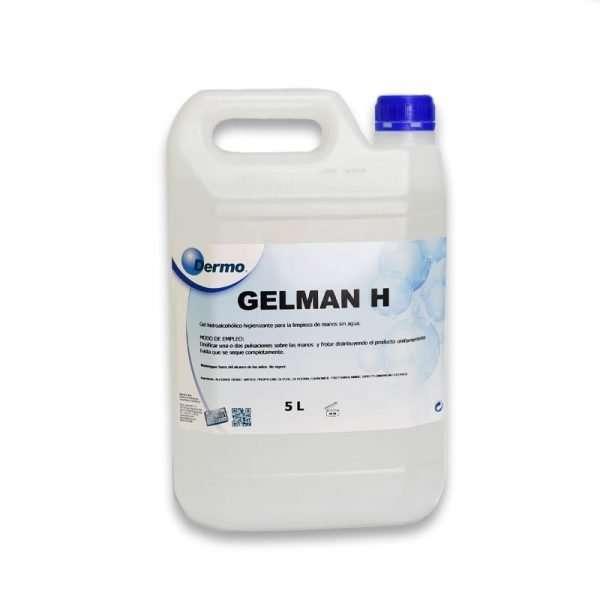 garrafa de 5l de gel hidroalcohólico Gelman H