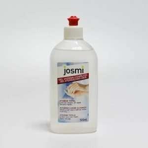 Gel hidroalcoholico sin agua marca Josmi de 500ml