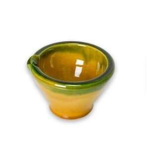 mortero barniz mini amarillo