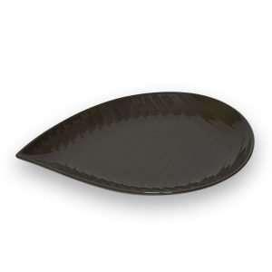 Bandeja Stonware 32x22,5x3 Amazonas Chocolate Viejo Valle