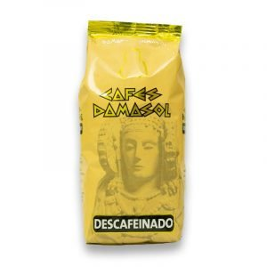 café descafeinado 1kg en grano Damasol