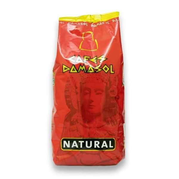 café natural 1kg en grano Damasol